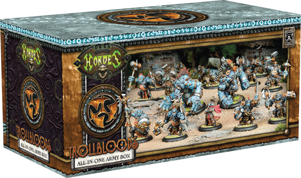 Trollbloods All in One Army Box - Hordes - Privateer Press 011002PIP71097