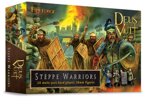 Steppe Warriors (24 infantry plastic figures) - Fireforge Games