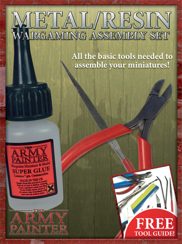 Metal/Resin assembly set - Army Painter Tools 030001ST5109