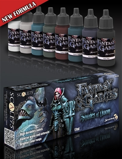 Shades of Doom - Fantasy&Games Paint Set - Farbset - Scale75 070001SSE-019
