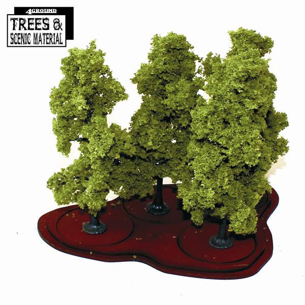Young Oak/Beech Trees (4x) Eiche / Buche - 4Ground