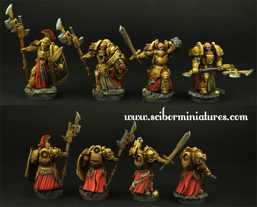 SF Roman Legionaries 10 figures set - Scibor Miniatures