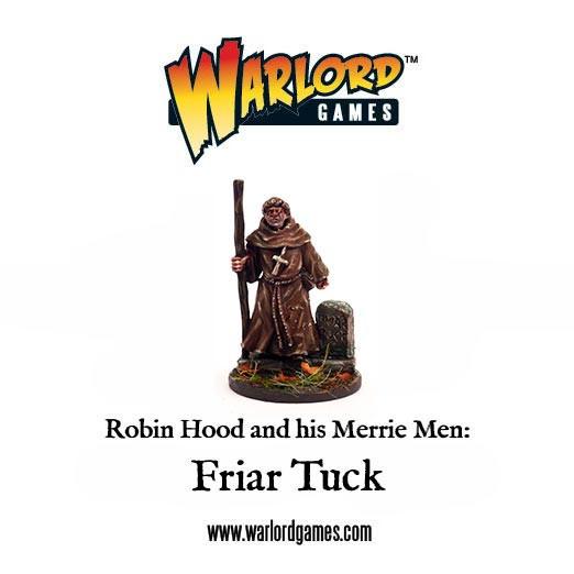 Friar Tuck - Robin Hood - Warlord Games
