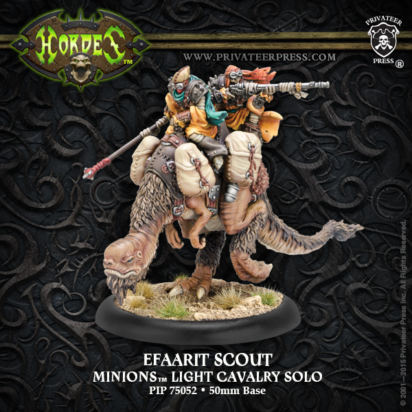 Minion Efaarit Scout Resin - Hordes - Privateer Press 011001PIP75052