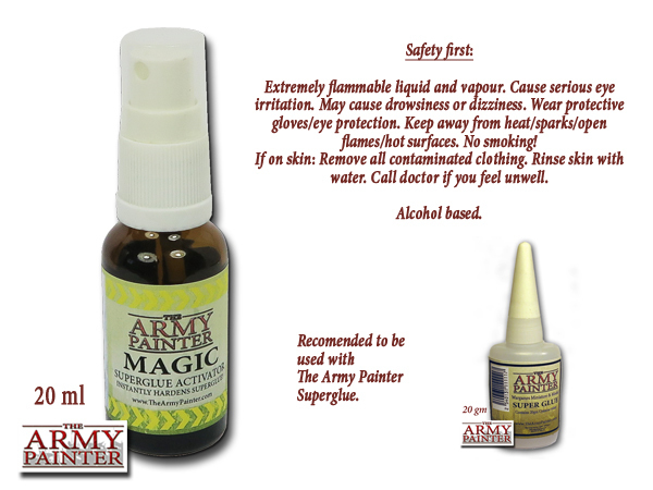 Magic Activator Super Glue - Alcohol - Army Painter
