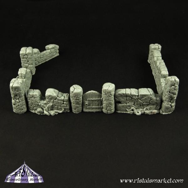 Old Stone Wall Terrain (10) - Scenics - Ristul