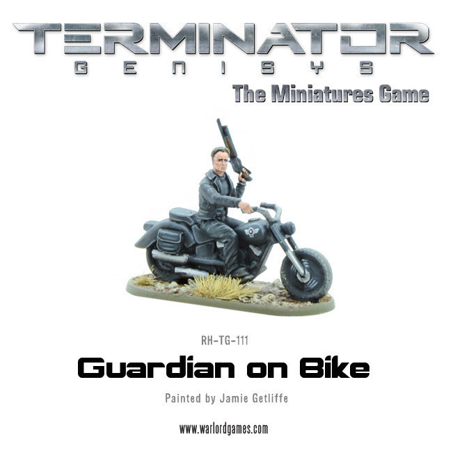Guardian on Bike (metal) - Terminator Genisys - River Horse RH-TG-111