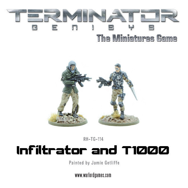 T1000 and Infiltrator (metal) - Terminator Genisys - River Horse RH-TG-114