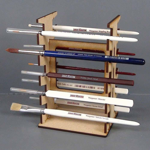 Paint Brush Rack - Pinselhalter - TTCombat - Kingsley TTCBR01