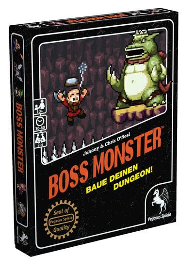 Boss Monster - Kartenspiel - Pegasus Spiele
