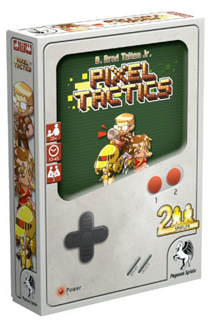 Pixel Tactics - Kartenspiel - Pegasus Spiele 4250231707186