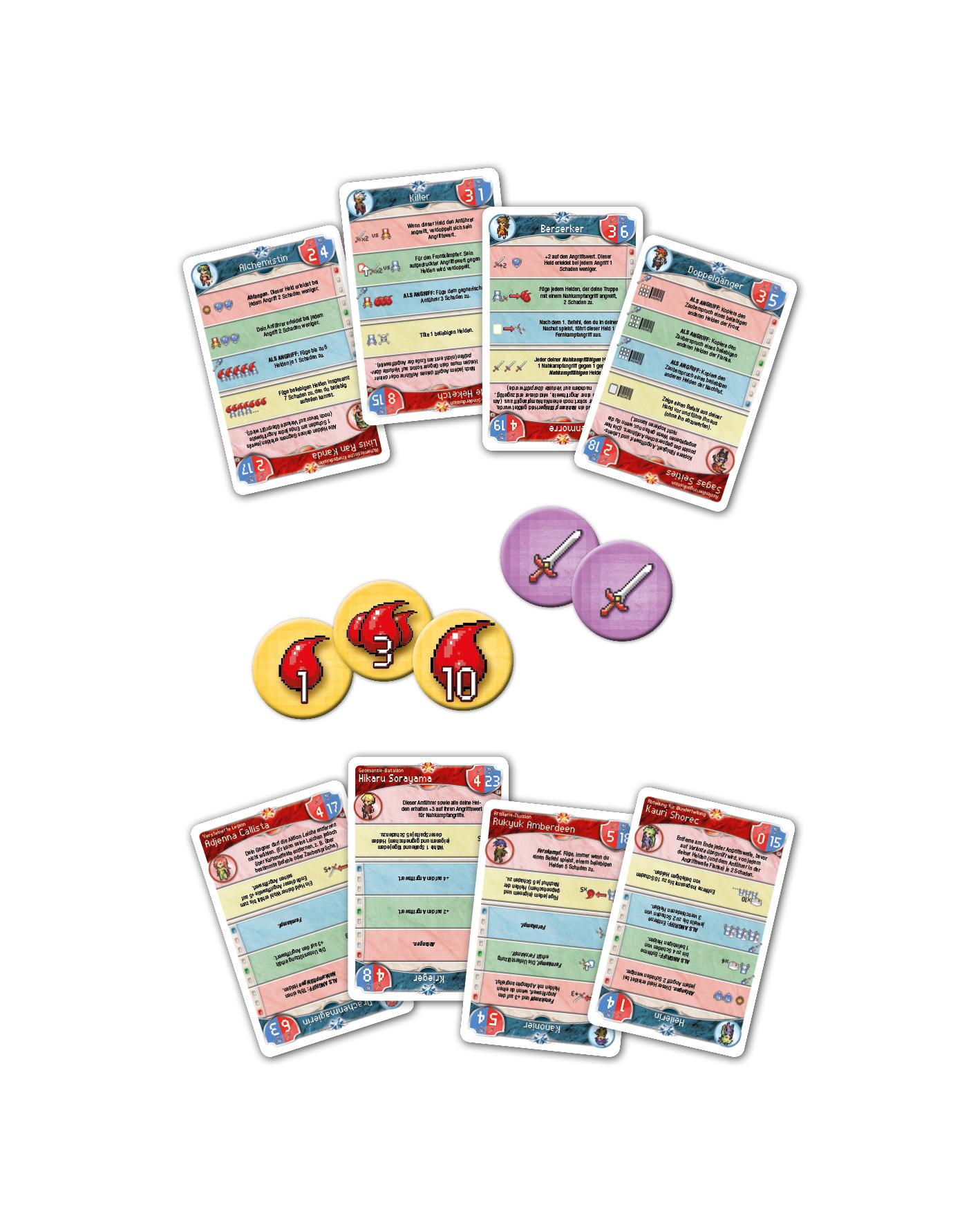 Pixel Tactics - Kartenspiel - Pegasus Spiele