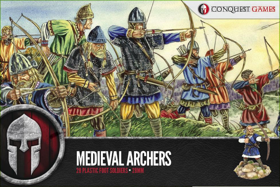 Medieval Archers - SAGA - Conquest Games