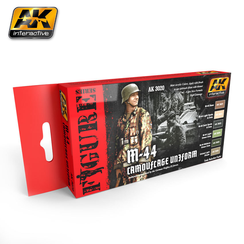 M-44 Camouflage Uniform - Farbset - AK Interactive