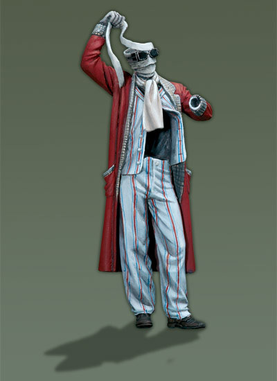 The Invisible Man - 54mm - Andrea Miniatures