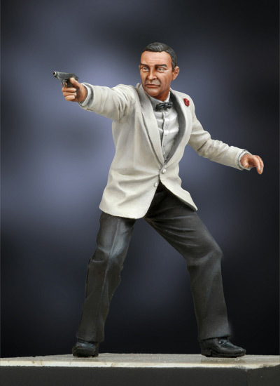 License to kill - 54mm - Andrea Miniatures SG-F123