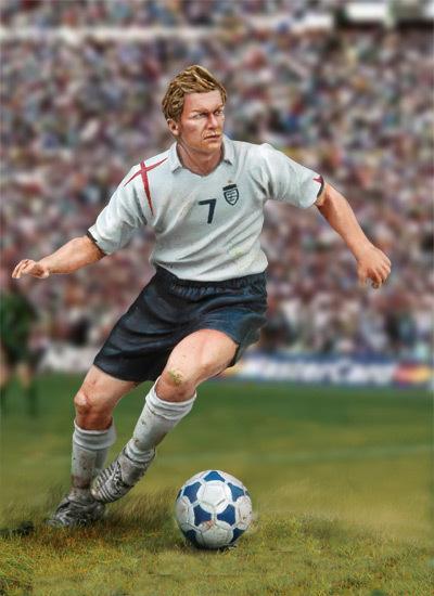 Football Player - 54mm - Andrea Miniatures SG-F126