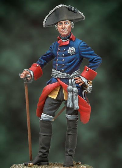 Frederick The Great, 1760´s - 54mm - Andrea Miniatures