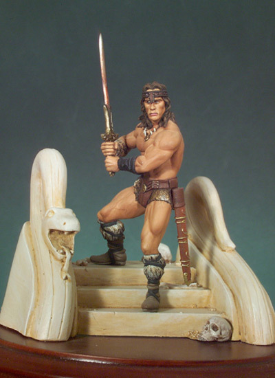 The Barbarian - 54mm - Andrea Miniatures 55498