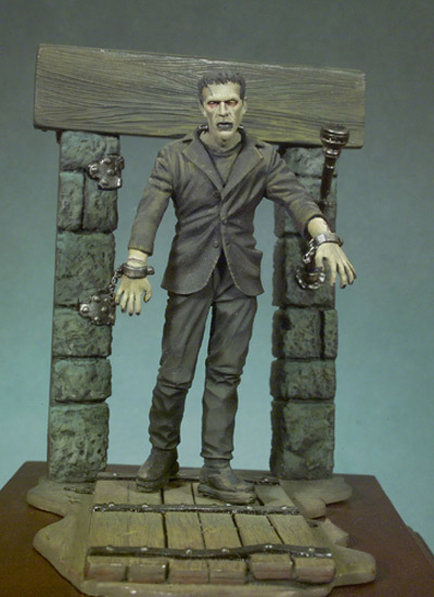 Frankenstein's Monster - 54mm - Andrea Miniatures