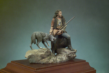 Dancing with Wolves - 54mm - Andrea Miniatures