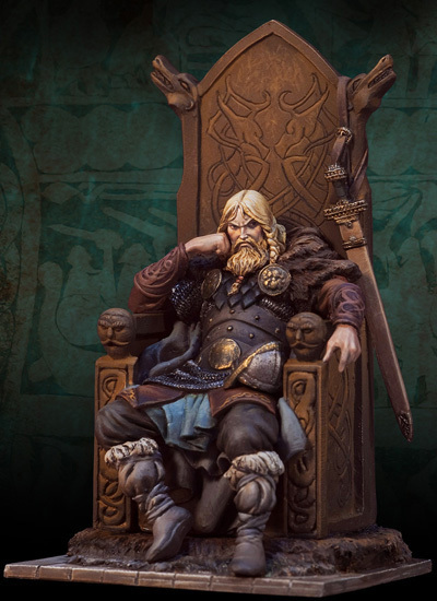 Norse Lord 800 A.D. - 54mm - Andrea Miniatures SV-02
