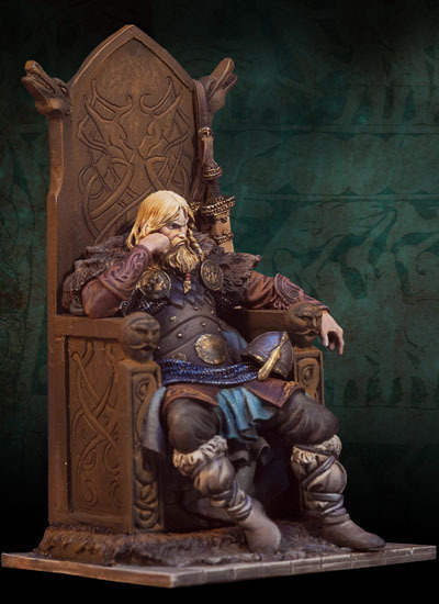 Norse Lord 800 A.D. - 54mm - Andrea Miniatures