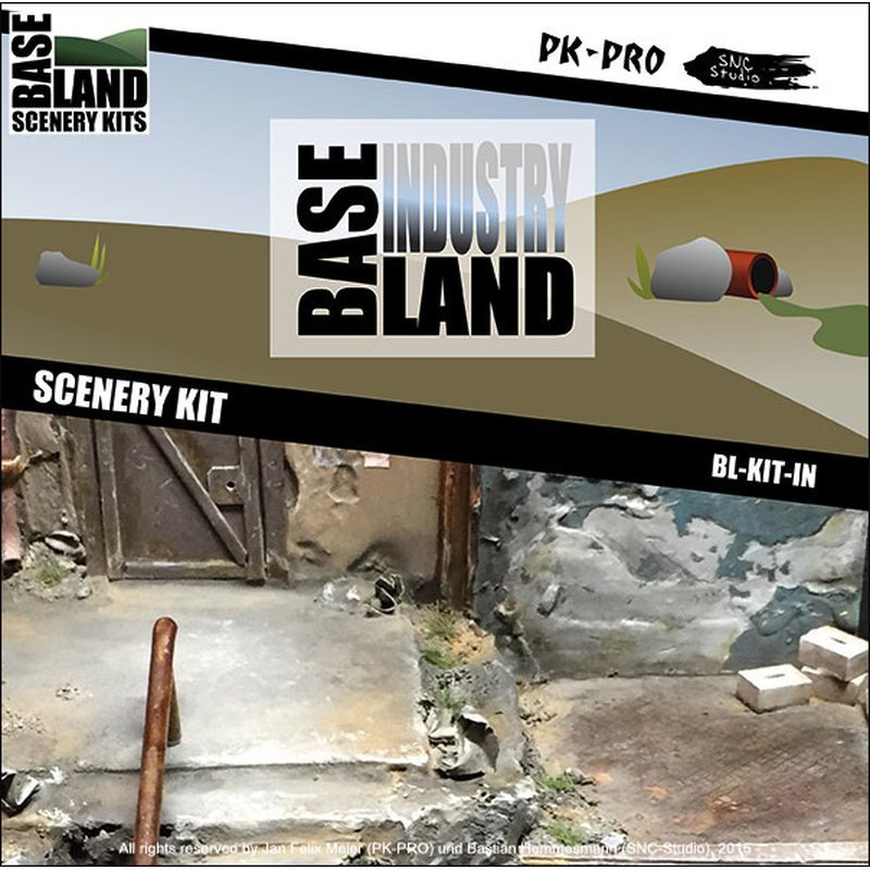 Base-Land-Scenery-Kit-Industrie - PK-Pro