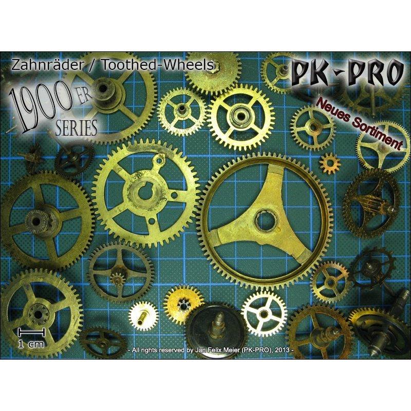 CP-Zahnrad-Set-1900er-Serie-25g - PK-Pro