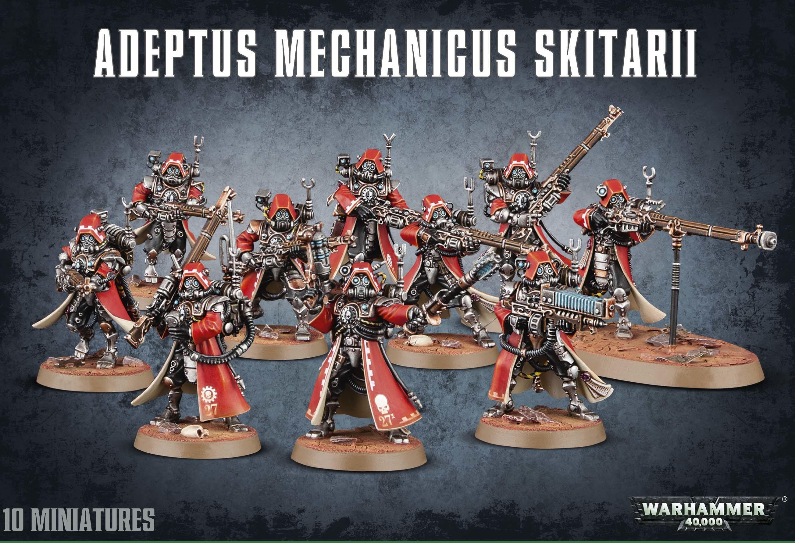 ADEPTUS MECHANICUS SKITARII - Warhammer 40.000 - Games Workshop 99120116016