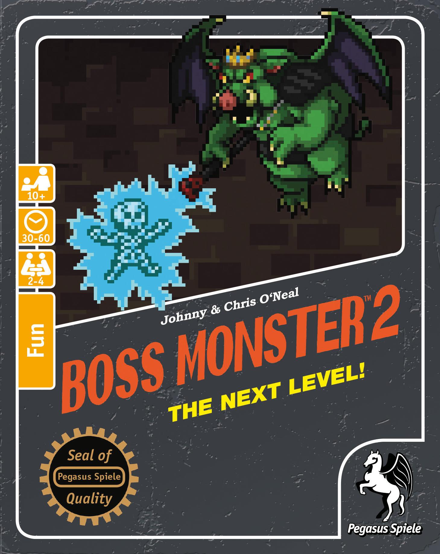 Boss Monster 2 - Kartenspiel - Pegasus Spiele 4250231711374