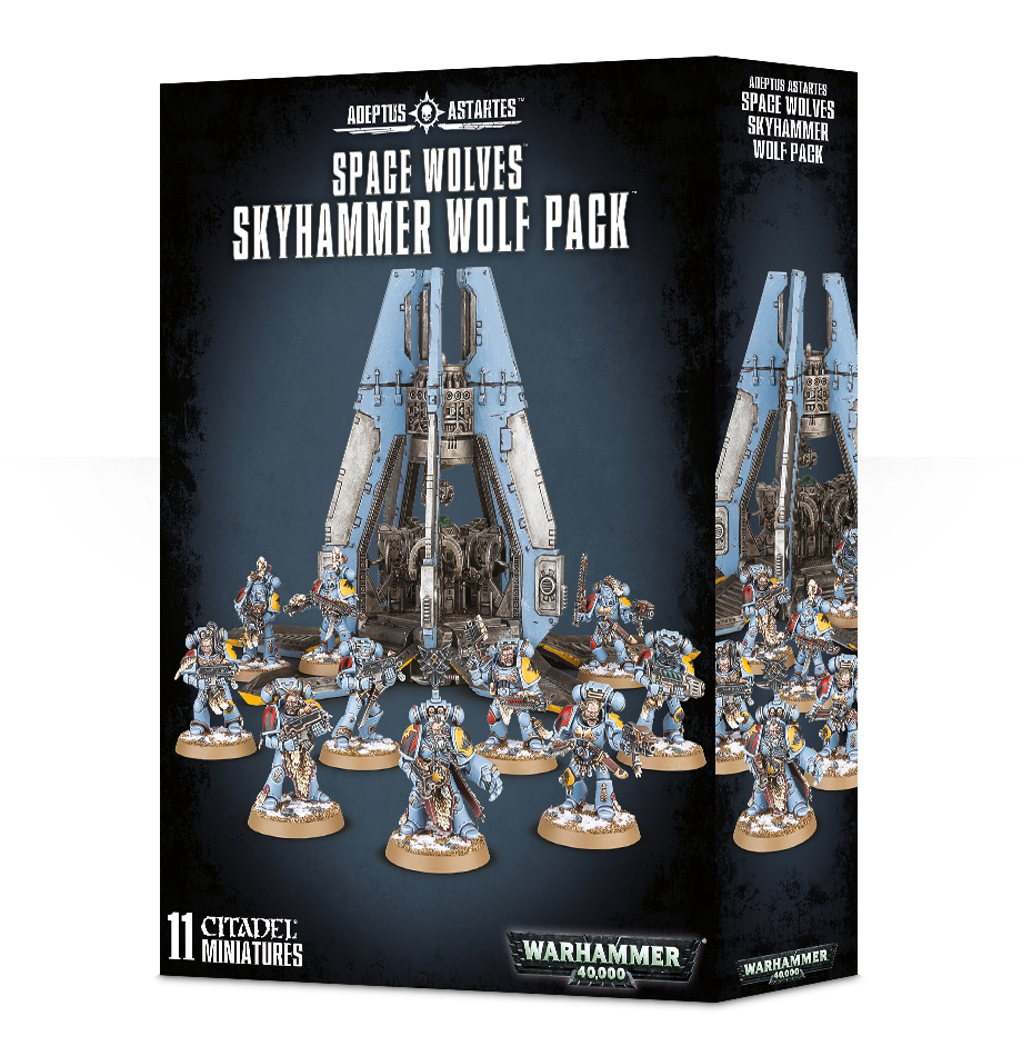 Space Wolves Skyhammer Wolf Pack Warhammer 40000 Games Workshop