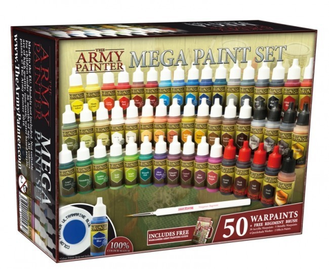 Warpaints Mega Paint Set 2017 (Neu) - Army Painter Warpaints