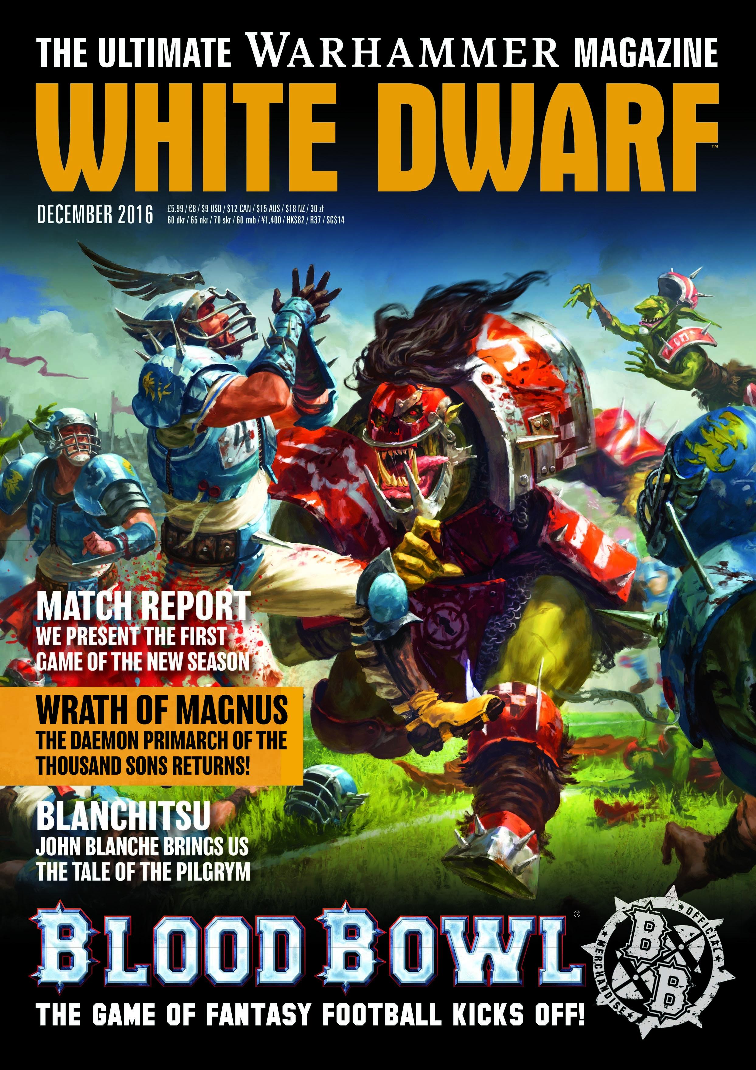White Dwarf Dezember 2016 (Deutsch) - Games Workshop 04249999554