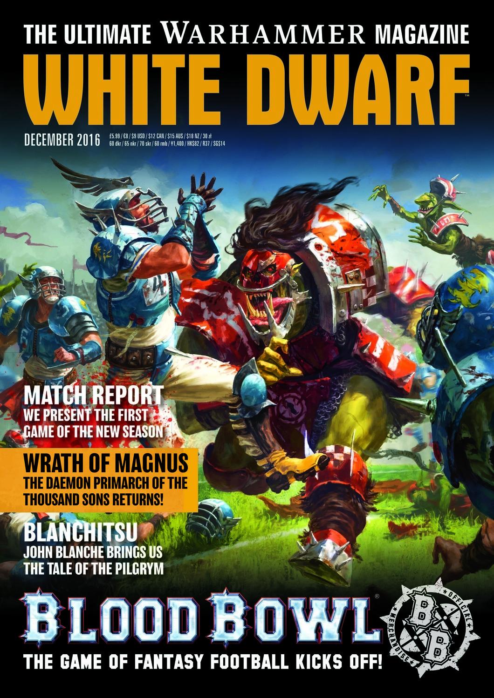 White Dwarf Dezember 2016 (Deutsch) - Games Workshop