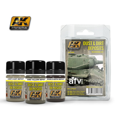 Dust and Dirt Deposits - Weathering - AK Interactive