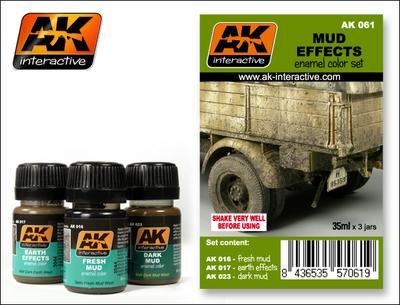 Mud Set - Weathering - AK Interactive