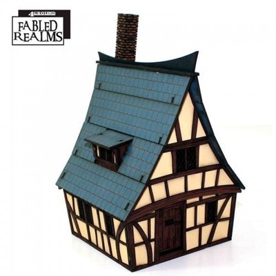 Mordanburg Highstreet House 4 - Fabled Realms - 4Ground