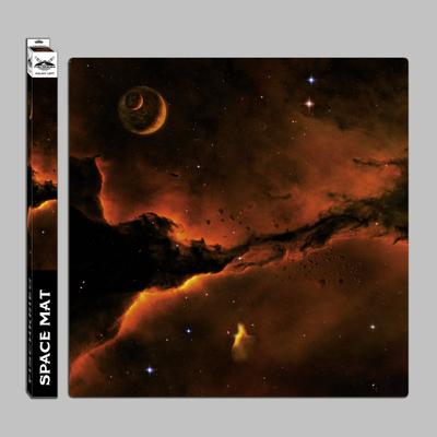 Space mat: Galaxy left - in Mousepad-Qualität - Spielmatte - Fischkrieg