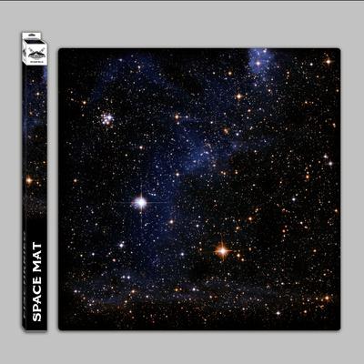 Space mat: Starfield - in Mousepad-Qualität - Spielmatte - Fischkrieg