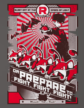 Team Rocketganda - Ladies - M - Shirt
