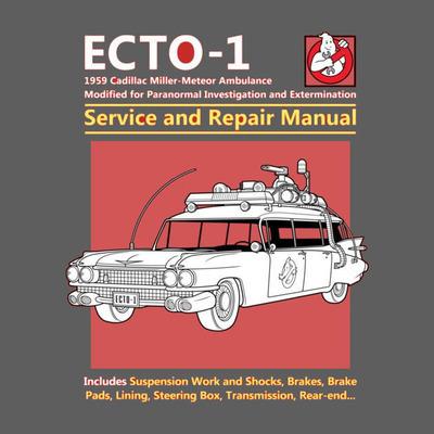 Ecto 1 Service and Repair Manual - Men - M - Shirt