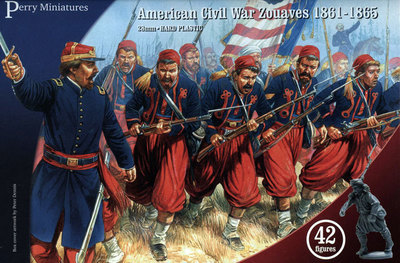 American Civil War Zouaves  - Perry Miniatures