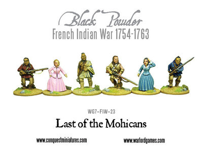 Last of the Mohicans - Black Powder - Warlord Games
