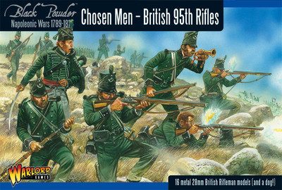 British 95th Rifles (Chosen Men) - Black Powder - Warlord Games