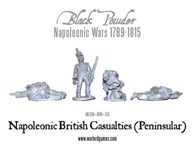 British Casualties (Peninsular) - Black Powder - Warlord Games