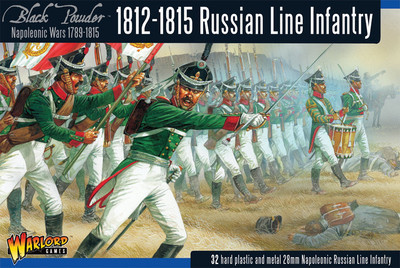 Late Russian Infantry (1812-1815) - Black Powder - Warlord Games
