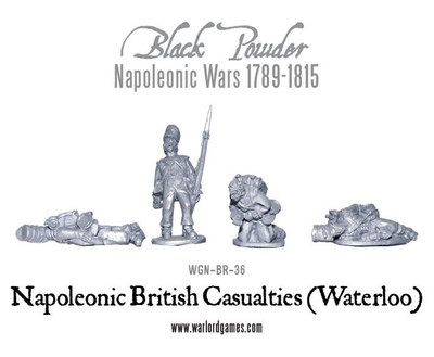 British Casualties (Waterloo) - Black Powder - Warlord Games