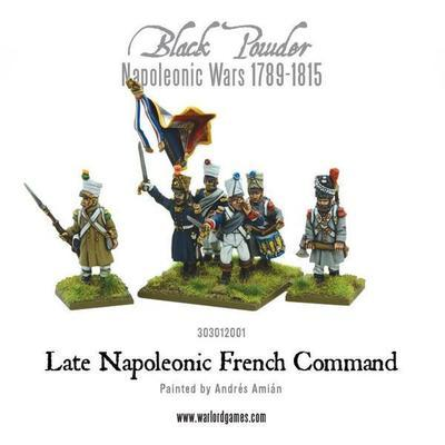 Napoleonic Late French Command - Black Powder - Warlord Games