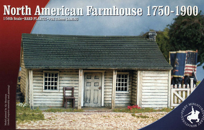 North American Farmhouse 1750-1900 - Perry Miniatures